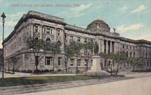 Wisconsin Milwaukee Public Library And Museum 1912