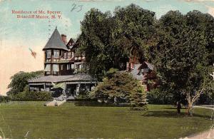 N.Y. Briarcliff Manor, Residence of Mr. Speyer 1914