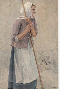 TUCK 6511 ; German Peasant Life by FK , 00-10s ; A Gleaner