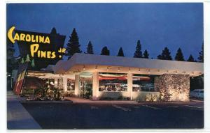 Carolina Pines Jr Coffee Shop Hollywood California postcard