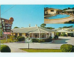 Unused 1950's EL SOL MOTEL & POOL St. Saint Petersburg Florida FL u5701-22