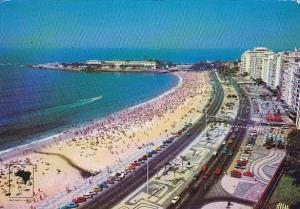 Brasil Rio De Janeiro Copacabana Beach