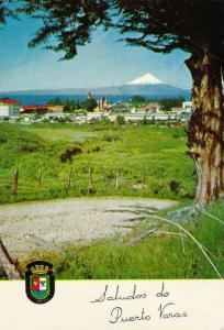 Puerto Varas, Panorama Con El V. Osorno Y El Lago Llanquihue, Chile, 1950-1970s