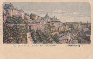 LUXEMBOURG , 00-10s ; Vue prise de la Caserne des Volontaires