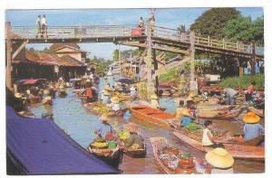 Floating Market,(Wat-Sai) near Bangkok, Thailand,40-60s