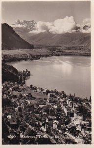RP; MONTREUX, Switzerland, 1920-1940s; Territet Et Les Dents Ou Midi