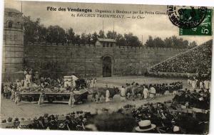 CPA Fete des vendagnes - Organisée a BORDEAUX par (192587)