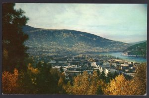 British Columbia NELSON overlooking town from Gyro Park - Chrome 1950s-1970s