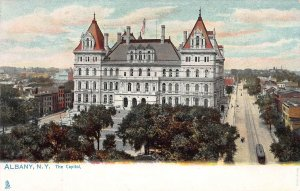 The Capitol, Albany, New York,  Early Postcard, Unused