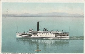 Steamer Chateaugay on Lake Champlain, 1916