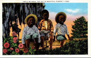 Black Americana We'll Be Seein' You All In Beautiful Florida 1937