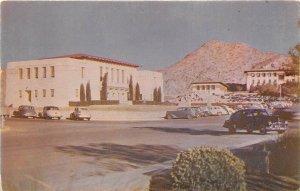 El Paso Texas 1950s Postcard College Of Mines and Metallurgy