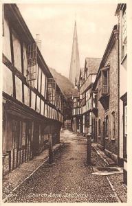 Church Lane Street Ledbury Frith's Series