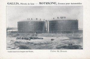 Usine de ROUEN, France, 1900-10s ; Tanks