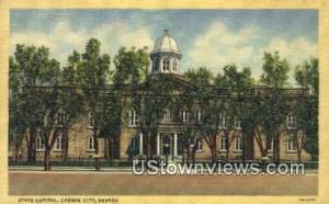 State Capitol Carson City NV Unused