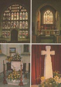 St Andrews Church Colyton Devon Postcard