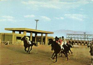 PC CPA SAUDI ARABIA, RIYADH, HORSE RACING, Modern Postcard (b15926)