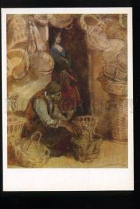 165887 Armenia Seller of baskets by Grigor AGASYAN old colorPC