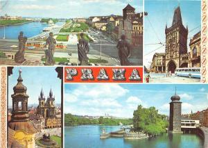 B27697 Praha Vltava s plovoucim hotelem Albatros czech republic