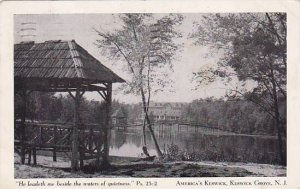 New Jersey Keswick Grove He Leadeth Me Beside The Waters Of Quietnell Ps 23 2...