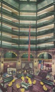 DENVER , Colorado , 1950-60s ; Brown Palace Hotel Lobby