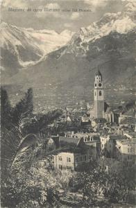 Italy Italia Stazione di cura Merano verso Val Venosta via Botosani Romania
