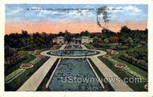 Shaw's Garden St. Louis MO 1937