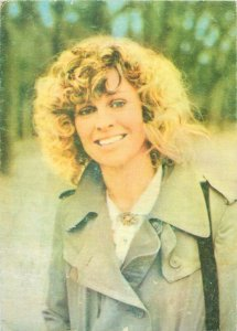 Actress ACIM Romania Postcard Julie Christie