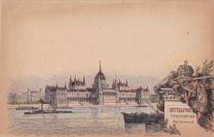 BUDAPEST , Hungary, 1890s ; Parlement