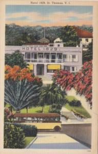 St Thomas Charlotte Amalie Hotel 1829