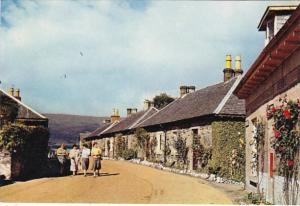 England Dunbartonshire Luss Village Loch Lomond