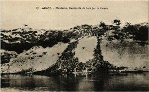 PC CPA TURKEY, ADANA, MANTACHE, TRANSPORTS DE BOIS, Vintage Postcard (b21306)