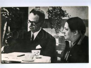 153005 Agniya BARTO Lev KASSIL Soviet Jewish WRITER old PHOTO