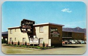 Colorado~Colorado Springs~Skylark Motel & Trailer Court~Television in Every Room