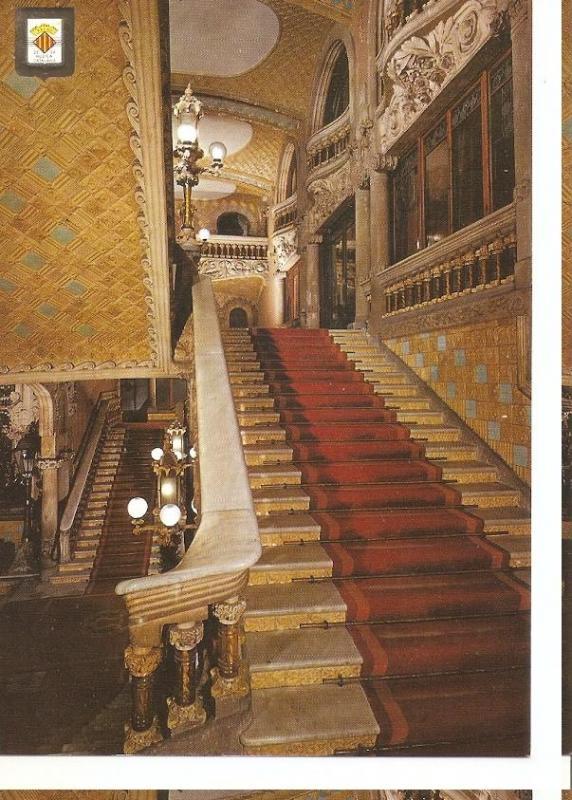 Postal 045394 : Palau de la Musica Catalana. Barcelona. Arquitecte: Domenech ...