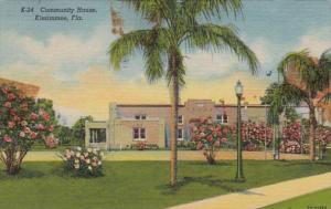 Florida Kissimmee The Community House 1959