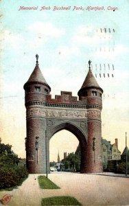 Connecticut Hartford Bushnell Park Memorial Arch 1907