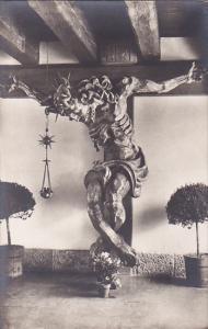 RP: Salzburg , Austria , 30-50s ; St Peter's abbey Crucifix