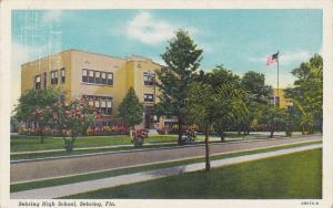 Sebring High School, SEBRING, Florida, PU-1947