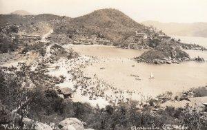RP:Acapulco , Gro. , Mexico , 1930-40s ; Vista