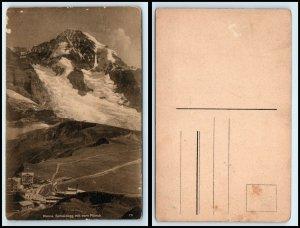 SWITZERLAND Postcard - Kleine Schiedegg mit dem Monch FF