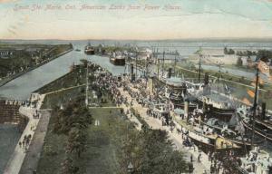 SAULT STE. MARIE , Ontario , Canada , 1916 ; American Locks