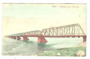 Victoria Bridge, Montreal, Quebec, Canada, PU-1906