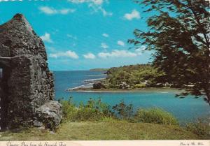 Guam Umatac Bay From The Spanish Fort Soledad