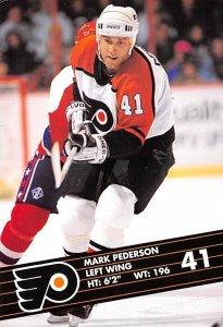 Mark Pederson Left Wing Hockey Unused
