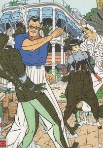 Daniel Torres Desayuno En El Mongo Spanish Comic Book Postcard