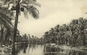 PC CPA IRAQ, BASRA, KORA CREEK, VINTAGE POSTCARD (b16258)