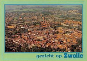 Netherlands Gezicht op Zwolle Eglise Panorama Church Aerial view