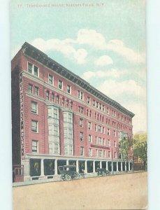 Divided-back HOTEL SCENE Niagara Falls New York NY AE2132