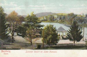 DANBURY , Connecticut, 1901-07 ; Summer Resort on Lake Kenosia